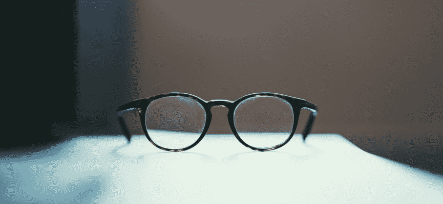 Image of a pair of glasses