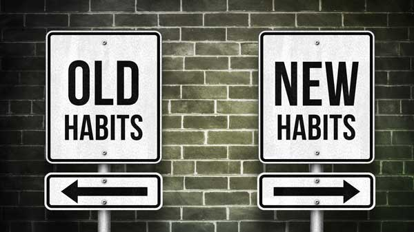 CREATE CHANGE THROUGH HABITS